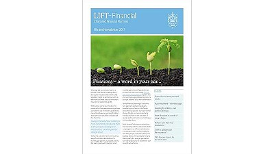 Continue reading 'Winter newsletter – your financial planning update'